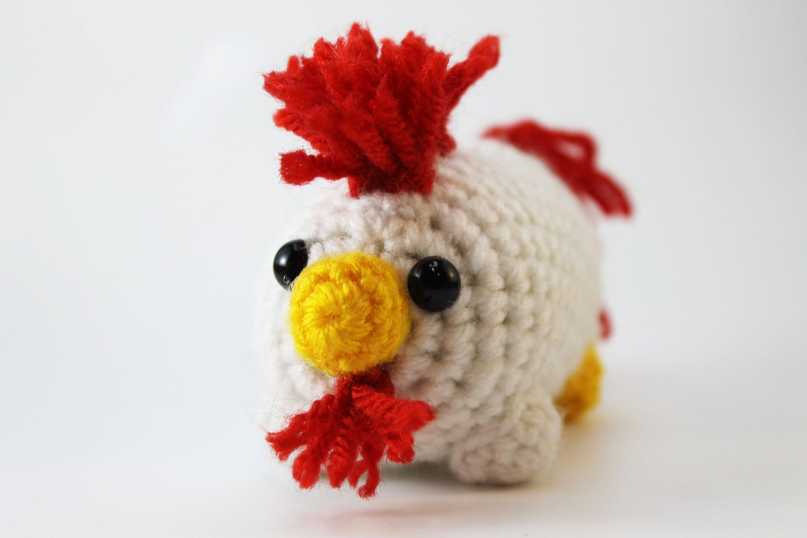 Amigurumi Chicken Plush Small
