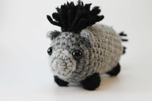 Amigurumi Donkey Plush Small