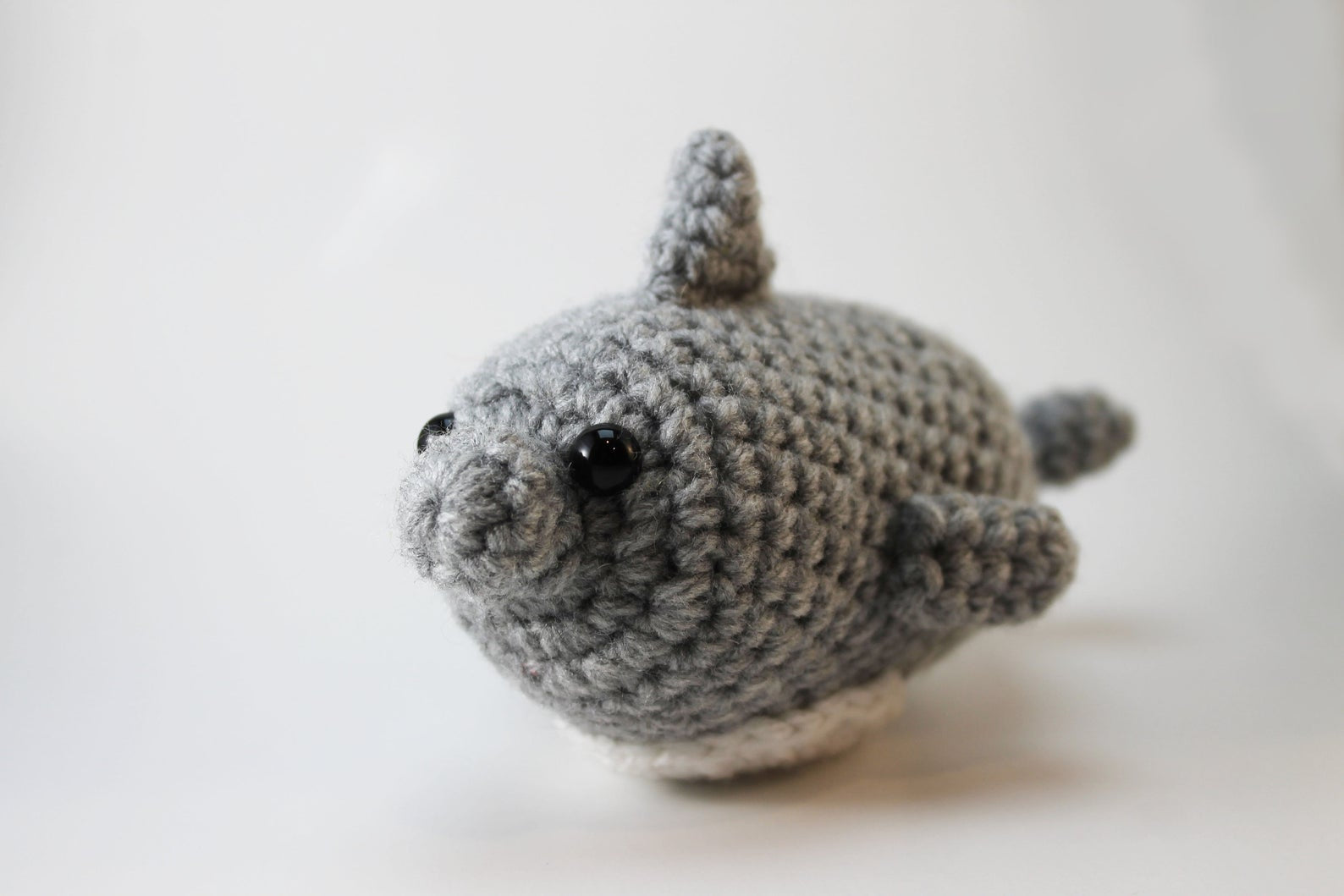Amigurumi Dolphin Plush Small