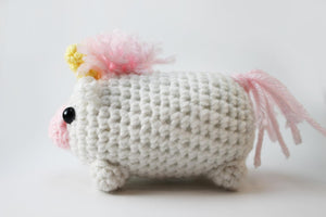 Amigurumi Unicorn Plush Small