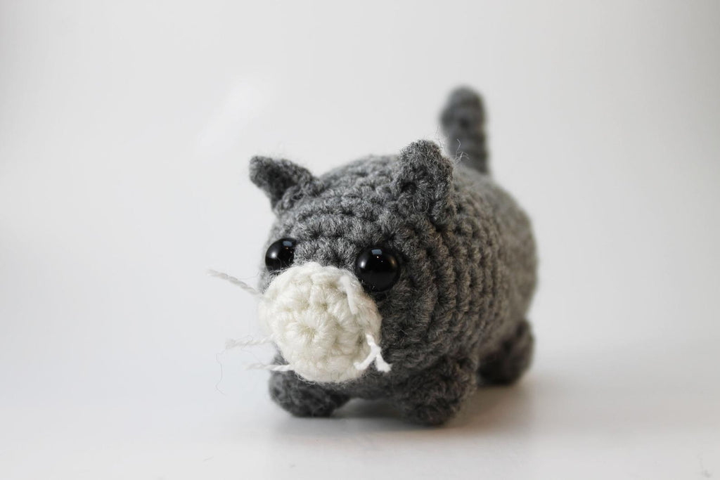 Amigurumi Cat Plush Small