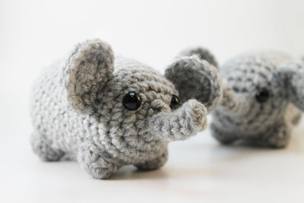 Amigurumi Elephant Plush Small
