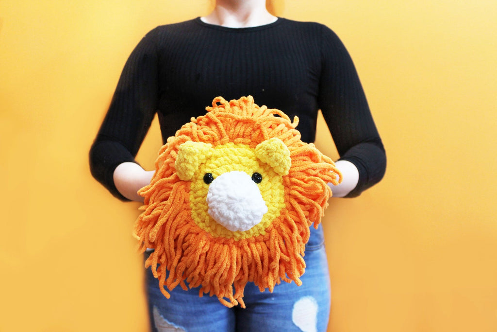 Amigurumi Lion Plush Large