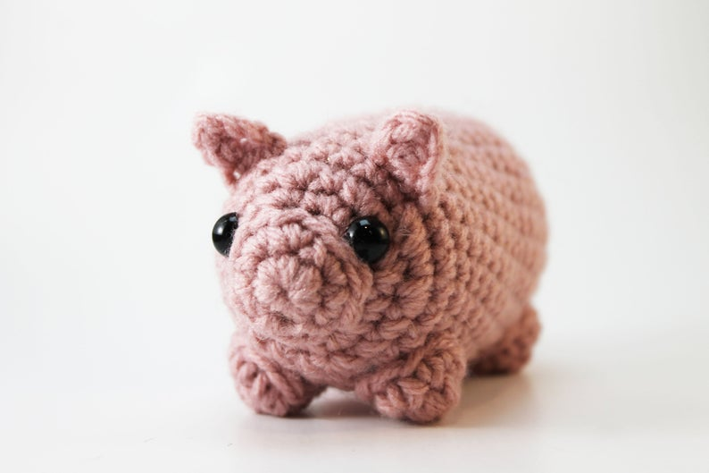 Amigurumi Pig Plush Small