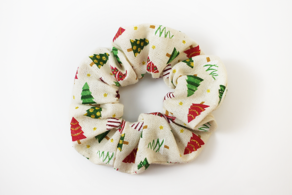Christmas Trees Scrunchie