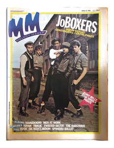 (1983-04-23) MELODY MAKER Magazine