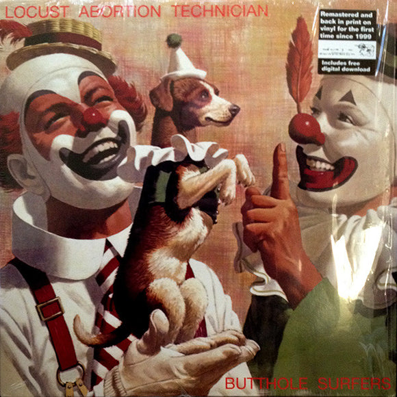 BUTTHOLE SURFERS - Locust Abortion Technician (Vinyle neuf/New LP)