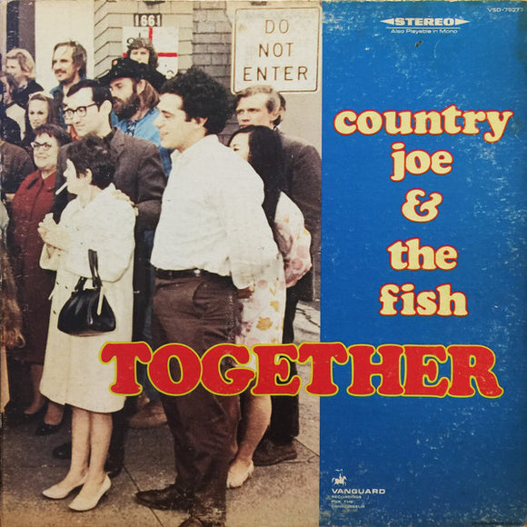 COUNTRY JOE & THE FISH - Together (vinyle/LP)