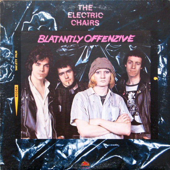 THE ELECTRIC CHAIR - Blatantly Offenzive (vinyle usagé/Used LP)