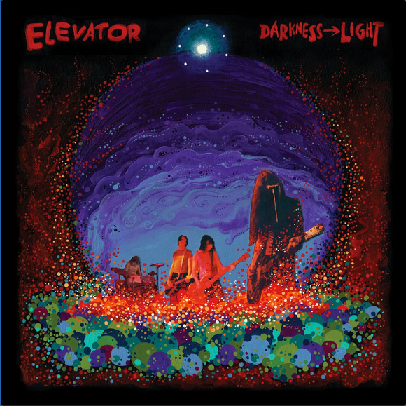 ELEVATOR - Darkness Light (Vinyle neuf/New LP)