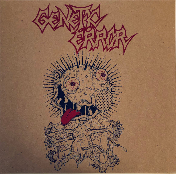 GENETIC ERROR - Toxic Planet Limited Edition (Vinyle neuf/New EP)