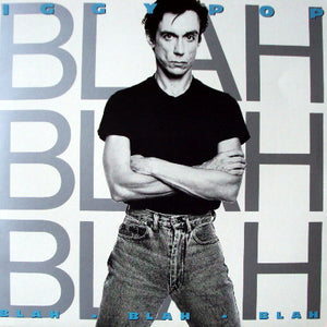 IGGY POP - Blah Blah Blah (vinyle usagé/Used LP)