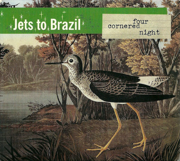 JETS TO BRAZIL - Four Cornered Night Indie Shop Edition 2xLP (Vinyle neuf/New LP)