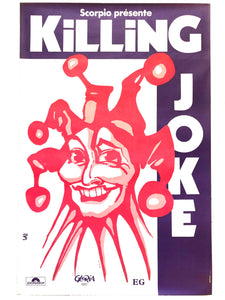 KILLING JOKE - Original 1983 French Tour (affiche/poster)