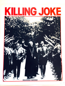 KILLING JOKE - Malicious Damage (affiche/poster)