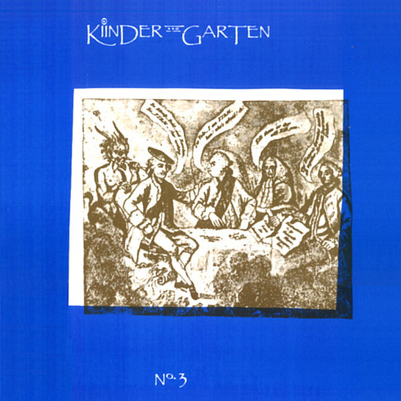 KINDER GARTEN - No. 3 (vinyle/LP)