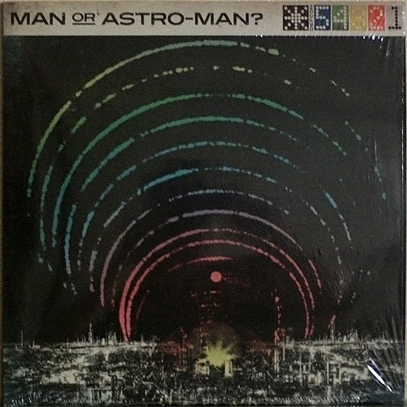 MAN OR ASTRO-MAN? - DEFCON 5...4...3...2...1 (Vinyle neuf/New LP)