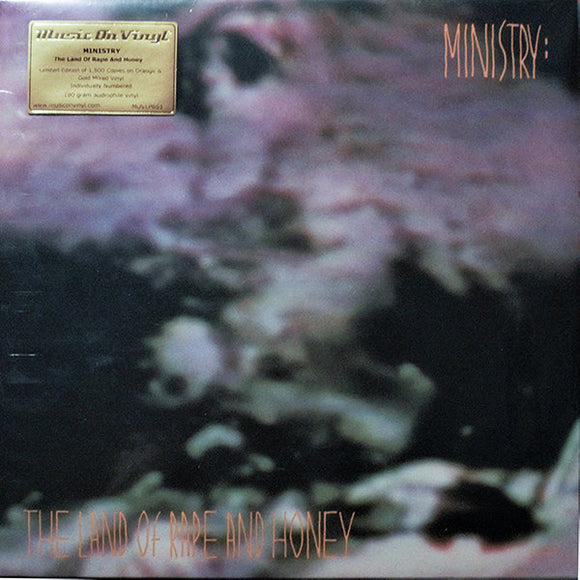 MINISTRY - Land of Rape and Honey (Vinyle Ccouleur) (Vinyle neuf/New LP)