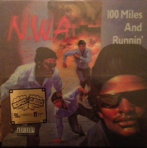 "N.W.A. - 100 Miles And Runnin' 12"" 3d Lenticular Cover (Vinyle neuf/New LP)"
