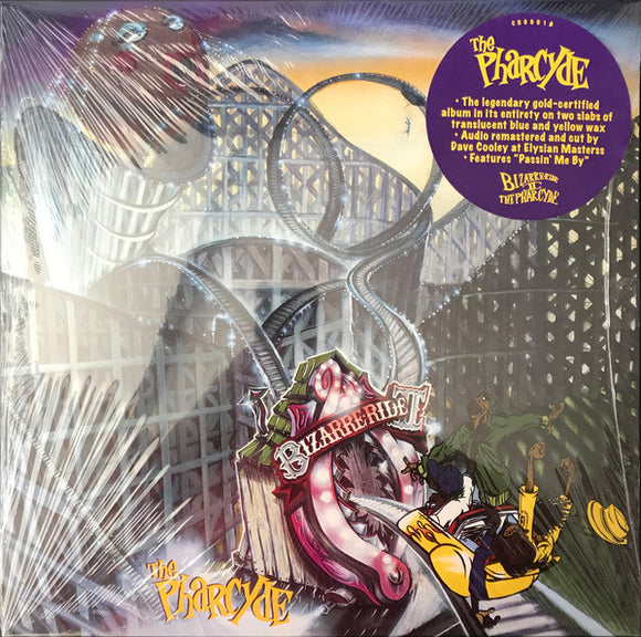 PHARCYDE - Bizarre Ride II The Pharcyde 2xLP translucide (Vinyle neuf/New LP)
