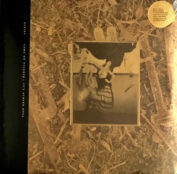 PIXIES - Come On Pilgrim... It's Surfer Rosa 2xLP (Gold) (Vinyle neuf/New LP)