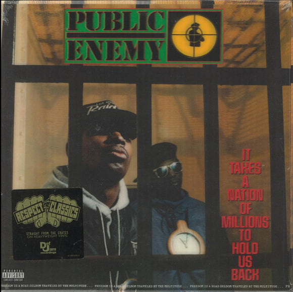 PUBLIC ENEMY - It Takes A Nation of Millions To Hold Us Back (Vinyle neuf/New LP)