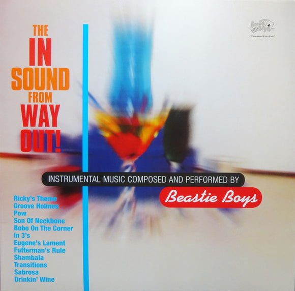 BEASTIE BOYS - The In Sound From The Way Out! (Vinyle neuf/New LP)