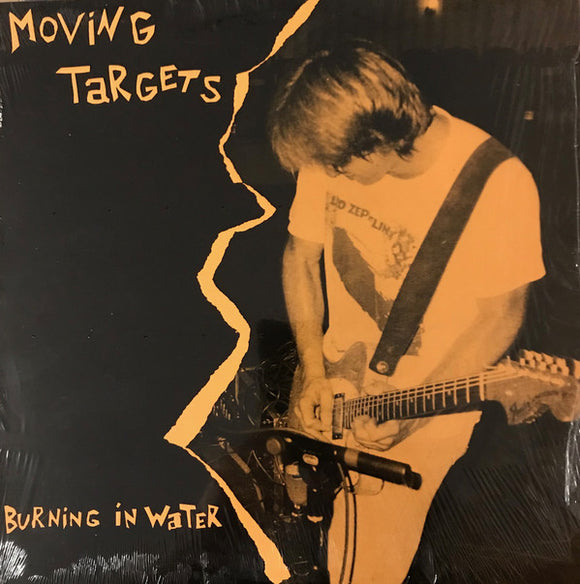 MOVING TARGETS - Burning In Water (Vinyle usagé/used LP)