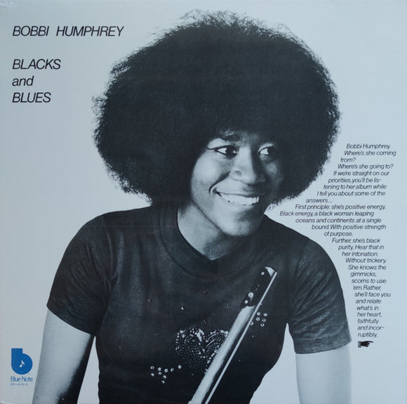 HUMPHREY BOBBI ‎– Blacks and Blues (Vinyle neuf/New LP)