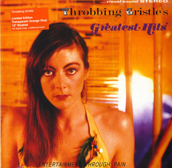 THROBBING GRISTLE - Throbbing Gristle's Greatest Hits vinyle orange (Vinyle neuf/New LP)