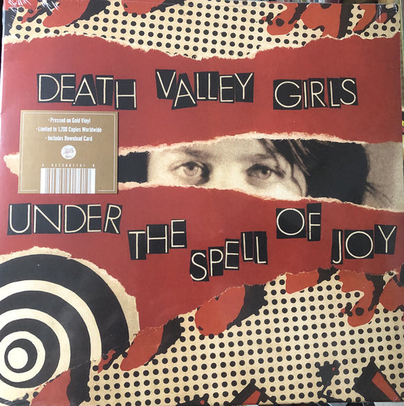 DEATH VALLEY GIRLS - Under The Spell Of Joy (Vinyle neuf/New LP)