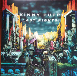 SKINNY PUPPY - Last Rights  (Vinyle neuf/New LP)