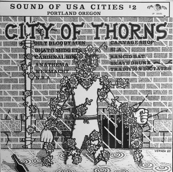 V/A - City of Thorns (vinyle usagé/Used LP)