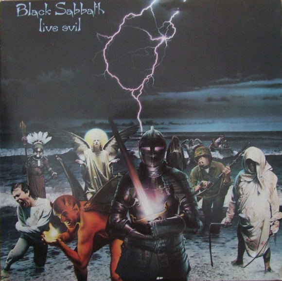 BLACK SABBATH - Live Evil (vinyle usagé/Used LP)