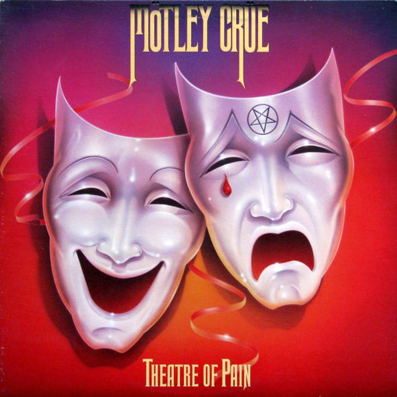 MOTLEY CRUE - Theatre of Pain (vinyle usagé/Used LP)