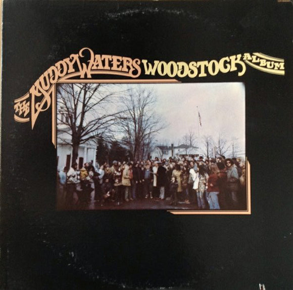 MUDDY WATERS- Woodstock Album (vinyle usagé/Used LP)