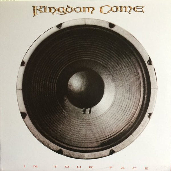 KINGDOM COME - In Your Face (vinyle usagé/Used LP)