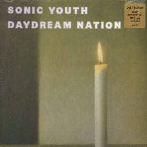 Sonic Youth Daydream Nation LP with poster