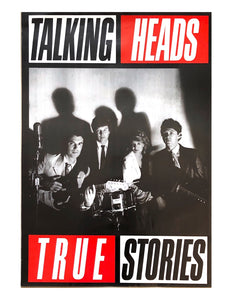 TALKINGHEADS - True Stories (affiche/poster)