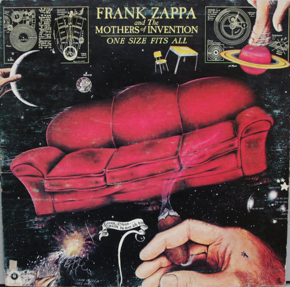 FRANK ZAPPA AND THE MOTHERS OF INVENTION - One Size Fits All (vinyle/LP)