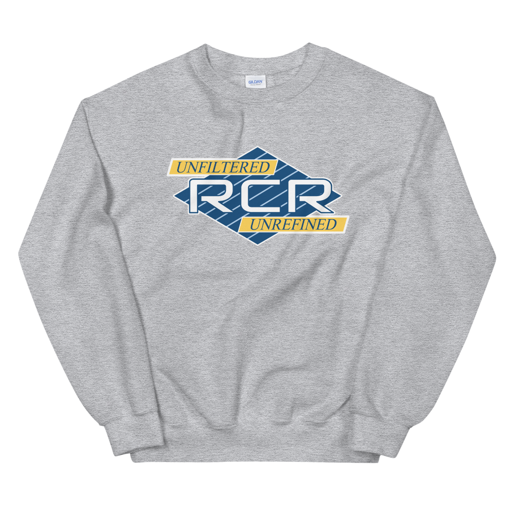 RCR Unfiltered Crew Sweatshirt - Blue/Yellow
