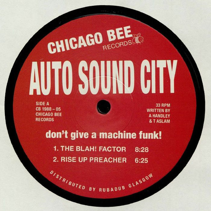 Don't Give A Machine Funk