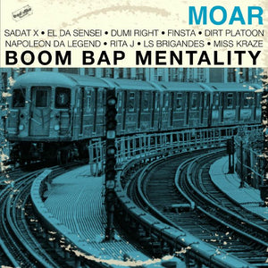 Boom Bap Mentality (coloured vinyl LP)
