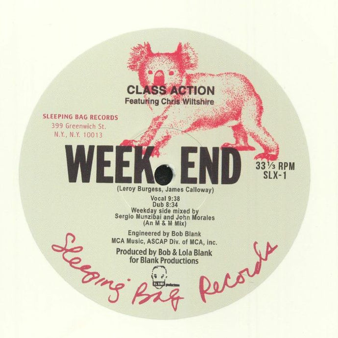 Weekend (Larry Levan remix)