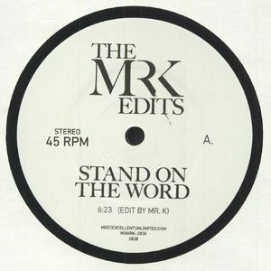 "Stand On The Word (7"")"