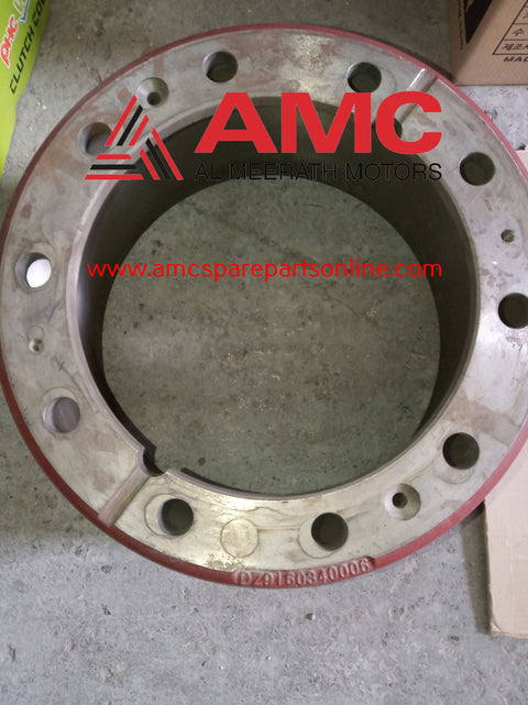 REAR BRAKE DRUM (HANDE AXLE) DZ9160340006