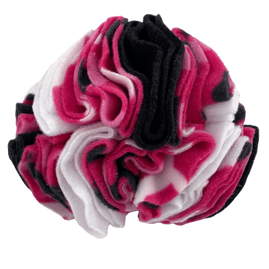 Pink bones snuffle ball by pet boutique