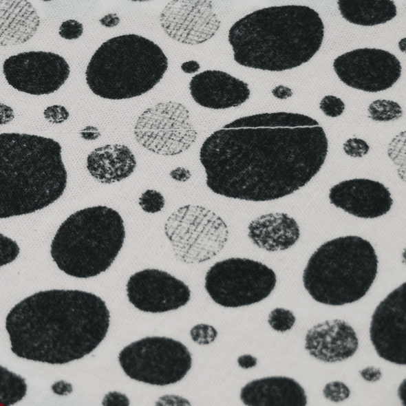 Dalmation Dots Dog Bandanas NZ pattern