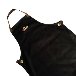 Black Molinera w/ Brown Faux Leather Lace