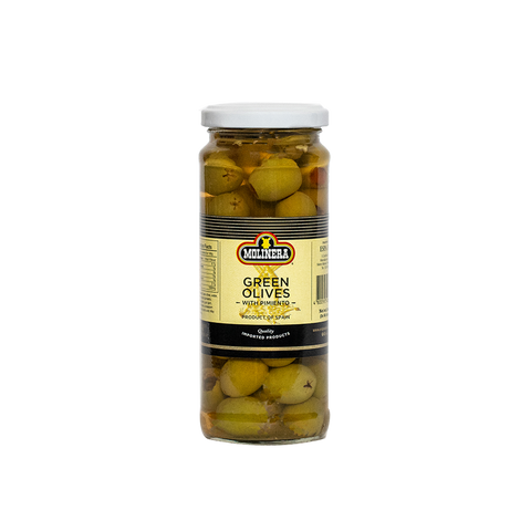 Molinera Green Olives Stuffed w/ Pimiento